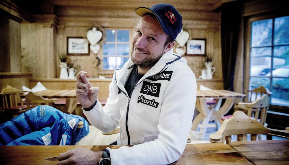 TAR DET MED RO: Aksel Lund Svindal. Foto: Bjørn Langsem / Dagbladet