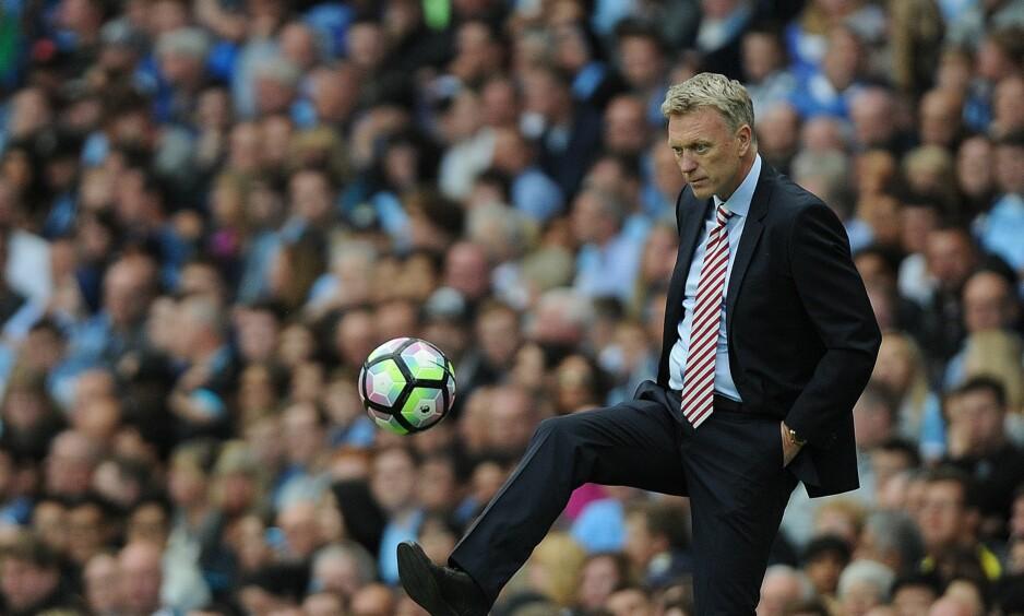 JULERETUR: David Moyes lyktes ikke på Old Trafford. Nå kommer han tilbake med Sunderland. Foto: NTB Scanpix/ EPA/PETER POWELL