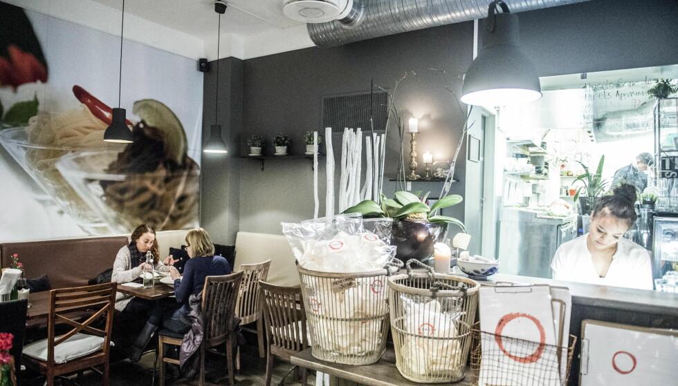 BILLIG RESTAURANT: Restaurant Monsun havner på listen over de beste og billige restaurantene til Robinson og Fredag. Foto:Thomas Rasmus Skaug / Dagbladet