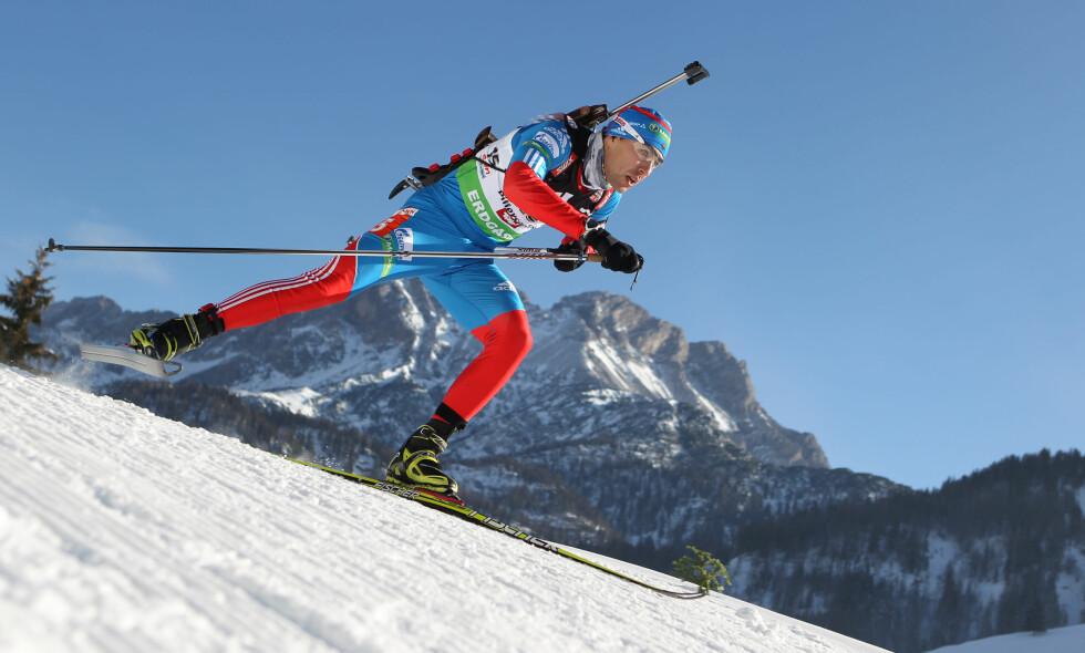 KRITISK: Skiskytteren Andrej Makovejev sår tvil om Richard McLaren som står bak den rystende rapporten som hevder å avsløre utstrakt dopingbruk blant russiske utøvere. Foto: AP Photo/Kerstin Joensson/NTB Scanpix