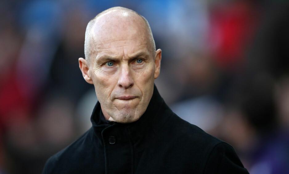 AKTUELL FOR NORGE?: Bob Bradleys agent er sikker på at amerikaneren er villig til å snakke med Norges Fotballforbund om landslagsjobben.  Foto: NTB Scanpix