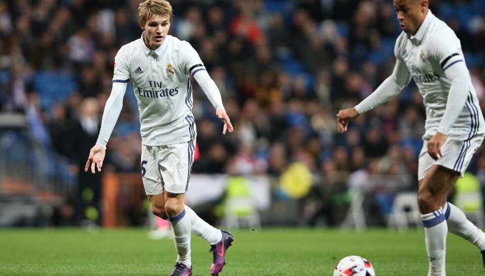 ETTERTRAKTET: Flere klubber skal ønske å låne Martin Ødegaard. Foto: NTB Scanpix