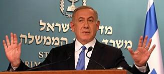Full splid mellom USA og Israel: - Jeg er svært skuffet, sier Israels statsminister