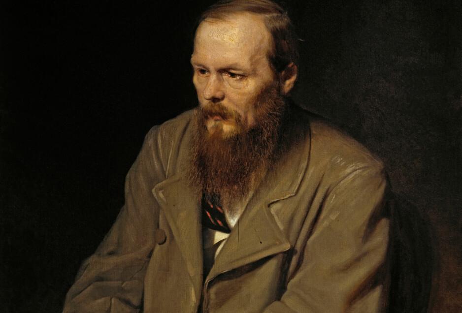 KLASSISK PORTRETT: Både drøm, skaperkraft og realisme lyser fra dikterens blikk i Vasily Perovs oljemaleri av Fjodor Dostojevskij.