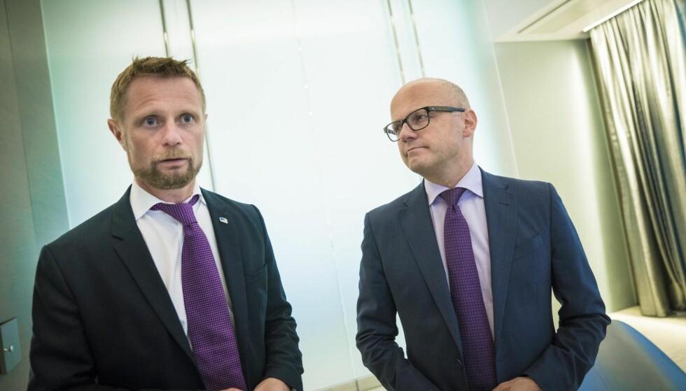 MÅ PRIORITERE: Bent Høie (H) bør konsentrere seg om å prioritere og få med seg regjeringen på reguleringer av markedet, framfor å klage på uanstendige aktører i legemiddelindustrien, skriver Dagbladet på lederplass.