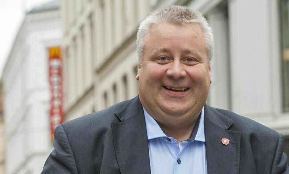 NY REGEL: Bård Hoksrud (Frp) er glad for gjennomslag for kravet om politiattest for helsepersonell, som innføres fra 1. januar. Foto: Arne V. Hoem / Dagbladet