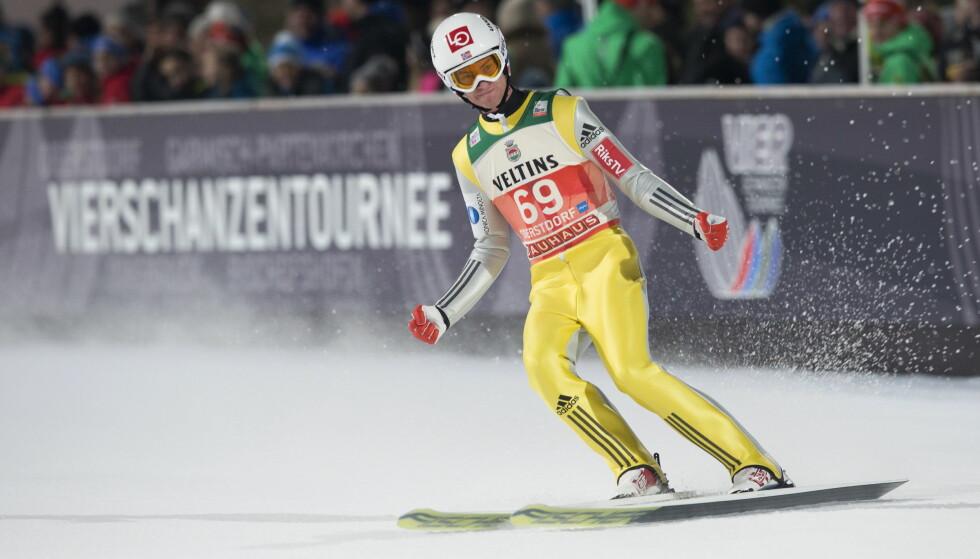 IMPONERTE: Daniel Andre Tande vant kvalifiseringen før åpningsrennet i hoppuka. Foto: Terje Bendiksby / NTB scanpix