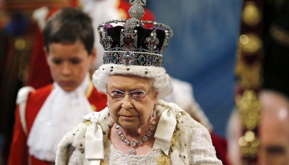 SYK: Dronning Elizabeth II må vinke farvel til nok en planlagt opptreden. Buckingham Palace opplyser at hun er forkjølet. Foto: NTB scanpix