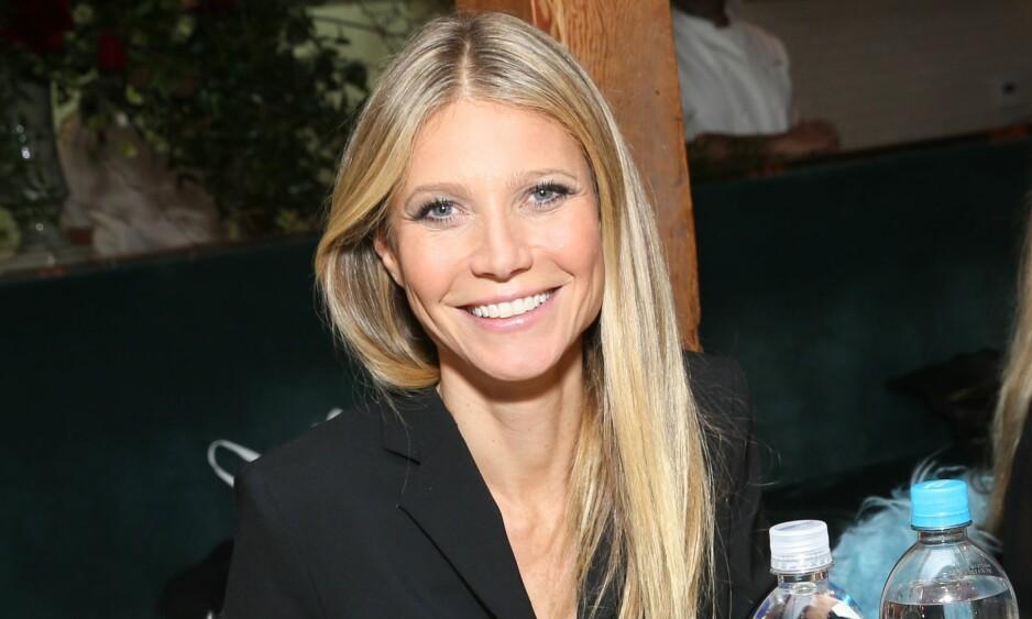 DELER TIPS: Gwyneth Paltrow har utviklet Goop.com fra å være et digitalt nyhetsbrev til et livsstilsmagasin på nett. Der har hun delt blant annet oppskrifter, kjærlighetsråd og helsetips. Foto: John Salangsang/BFA/REX/Shutterstock