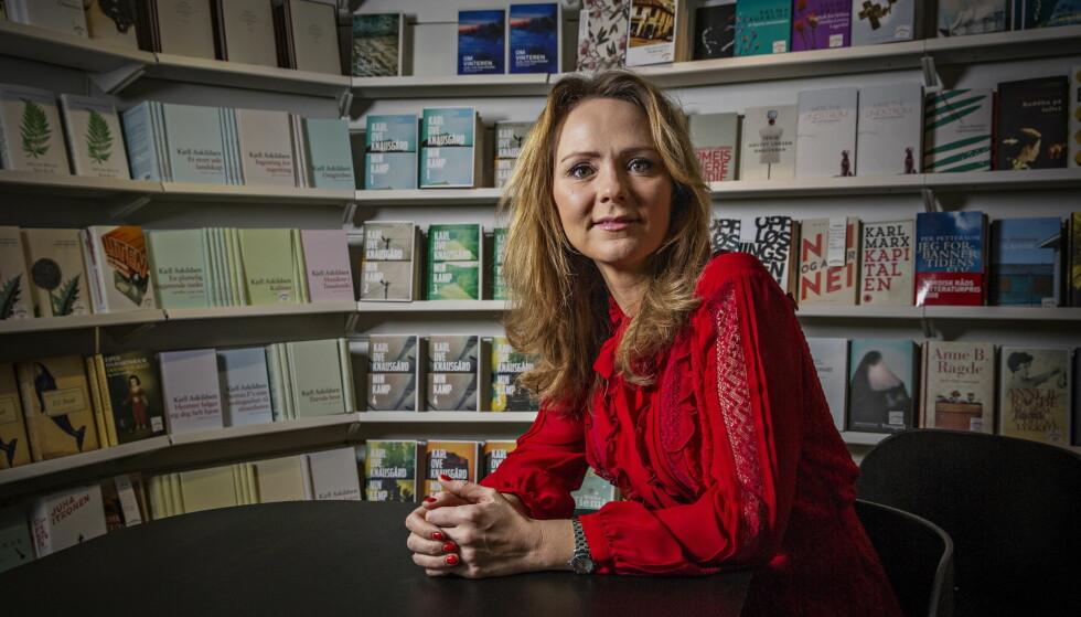OMLEGGING TIL DAB: Hvis DAB-omleggingen skulle blitt vedtatt i dag, tror kulturminister Linda Hofstad Helleland at situasjonen ville blitt annerledes. FOTO: Jørn H. Moen / Dagbladet