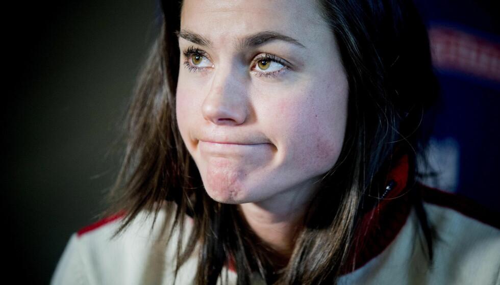SLÅTT UT: Heidi Weng ble slått helt ut av matforgiftning nylig, ifølge TV 2. Hun er veldig spent på formen før Tour de Ski. Foto: Bjørn Langsem / Dagbladet