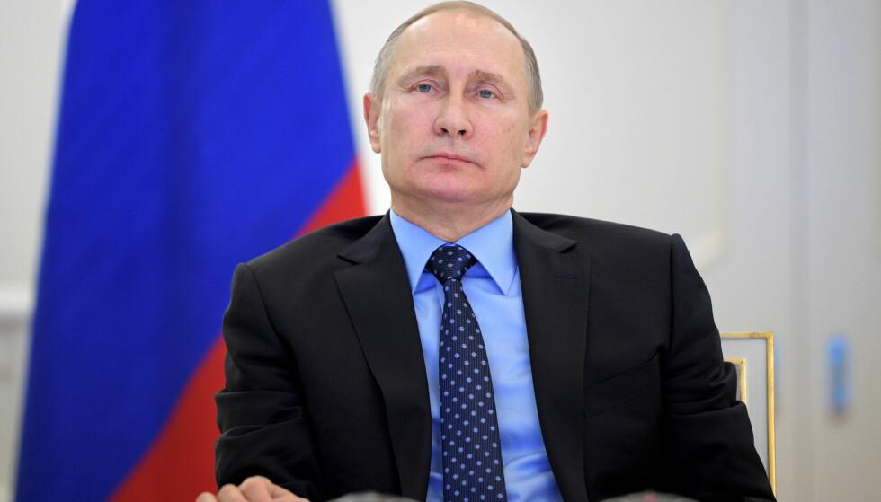DATAANGREP: Ifølge den anerkjente avisa Washington Post skal russere stå bak et hackerangrep mot et kraftselskap i delstaten Vermont. Russiske myndigheter, her ved president Vladimir Putin, har ikke kommentert påstandene. Foto: Reuters / NTB Scanpix