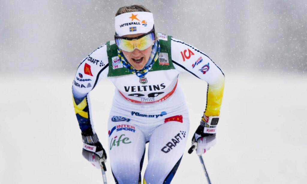FØRST: Stina Nilsson. Foto: NTB Scanpix