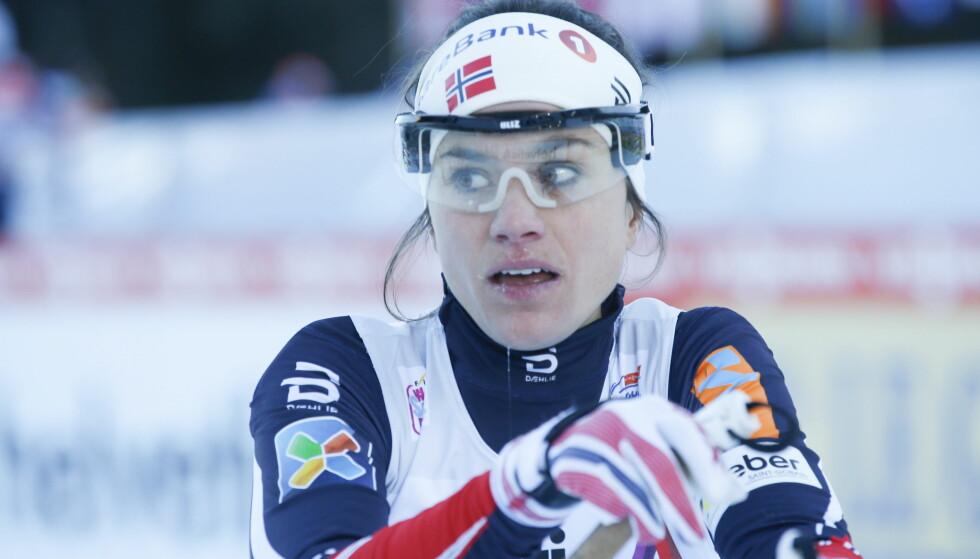 VAR SPENT: Heidi Weng fikk med seg nok en pallplass og et perfekt utgangspunkt for resten av touren på sprinten i Val Müstair i dag. Foto: Terje Pedersen / NTB Scanpix