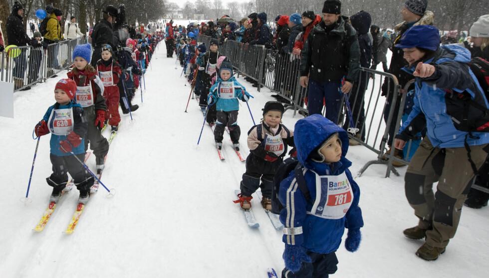 TØFT UTEN FLUOR: Ikke så mange år etter livets første tur med startnummer begynner for ofte smørepresset i skisporten. Det er noe det er mulig å endre gjennom å innføre et forbud mot helsefarlige fluorprodukter under skia. FOTO: Bjørn Sigurdsøn / SCANPIX.