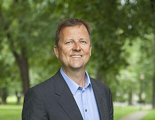 DIREKTØR: - Da vi ble kjent med at han hadde tatt oppdrag for selgere, ga konklusjonen seg selv, sier direktør Johan Dolven i Help. Foto: Help