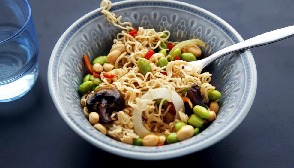 BØNNESTUND:  Soyabønner er godt, næringsrikt, billig og miljøvennlig — så lenge de brukes som menneskemat.