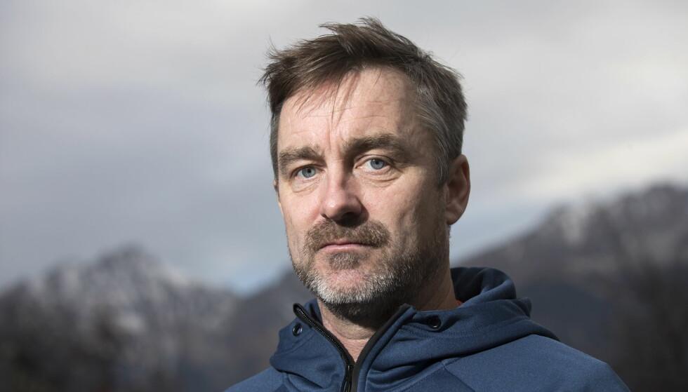 POSITIV: Clas Brede Bråthen ønsker å bidra til å utvikle hoppsporten. Alt var ikke bedre før, er mottoet hans. Foto: Terje Bendiksby / NTB scanpix