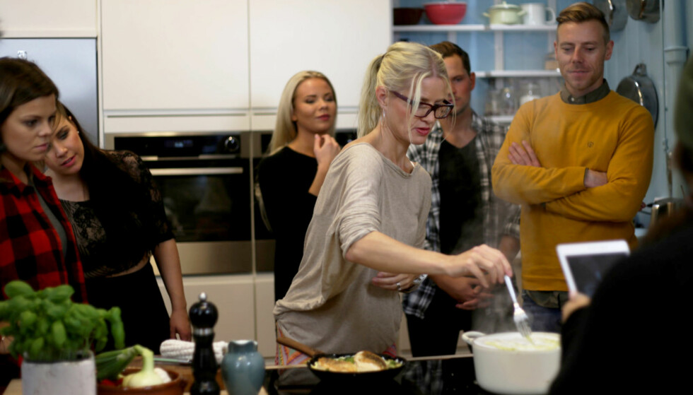 PASTAELSKER: Matbloggeren Fru Timian kan sin pasta.