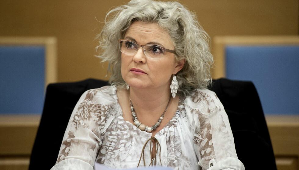 DØMT IGJEN: Frisør Merete Hodne nektet Malika Bayan frisørtime i salongen hennes. Fredag ble hun dømt i lagmannsretten, og må betale 7000 kroner i bot. Foto: Carina Johansen / NTB Scanpix