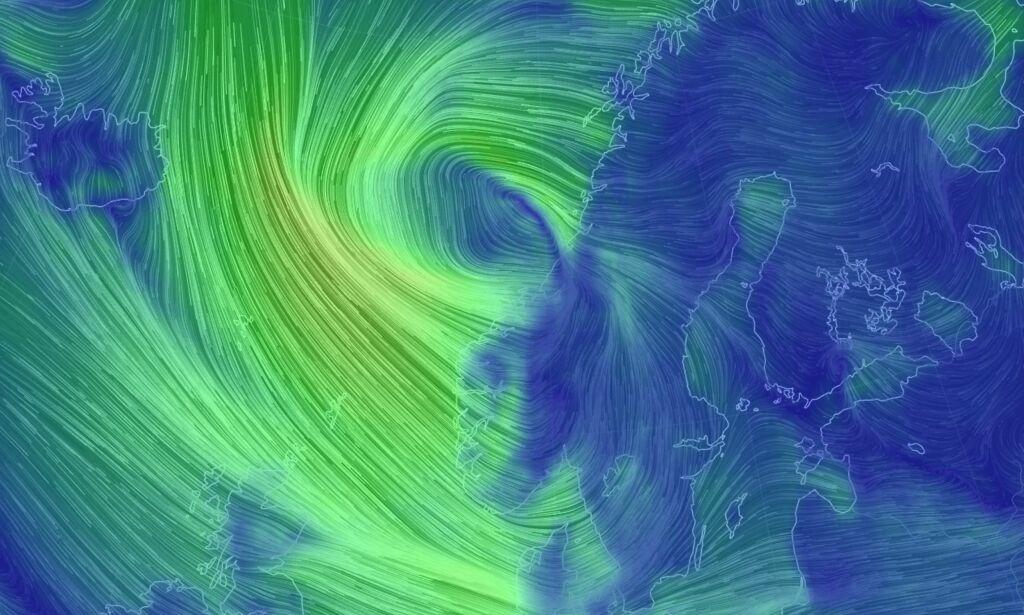 Varsler full storm i kveld - sjekk OBS-varsel for ditt fylke