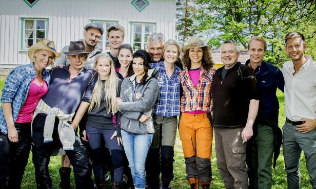 POPULÆR GJENG: Første sesong av «Farmen kjendis» gikk inn i TV 2-historien som den mest sette programserien noensinne, med over 900 000 seere i snitt. Foto: Bjørn Langsem / Dagbladet