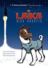 Briten Nick Abadzis har lagd en tegneserie bygd på historien om Laika.