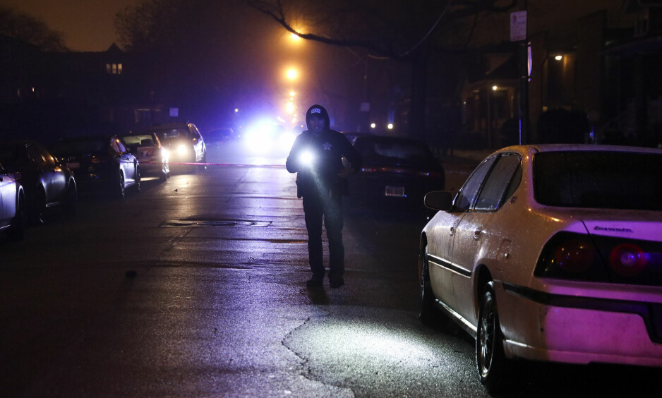 VOLDSHOVEDSTAD: I 2016 ble flere drept i Chicago enn noe tall fra de siste 20 foregående årene. Foto: Armando L. Sanchez/Chicago Tribune/TNS/NTB Scanpix