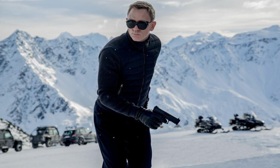 GIKK GLIPP AV BOND: Da James Bond-franchisen skulle spille inn «Specre», vurderte produksjonsselskapet Svalbard som innspillingssted. Men valget falt på Østerrike. Også den kommende James Bond-filmen skal vurdere å filme i Norge, men Norge kan gå glipp av også denne. Nå mener kulturminister Linda Hofstad Helleland at hun har løsningen på å få slike produksjoner til Norge. Foto: NTB Scanpix