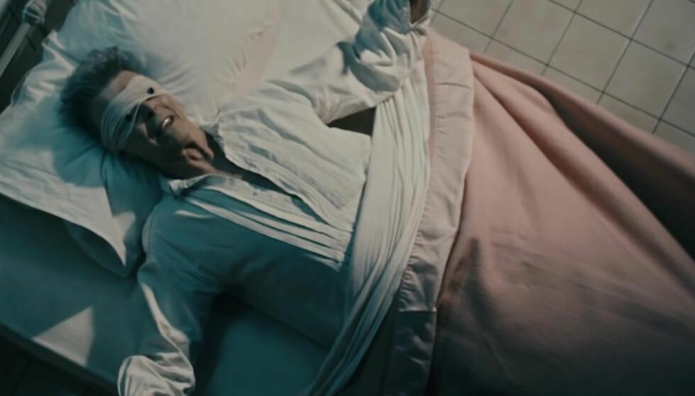 SISTE MUSIKKVIDEO: Videoen til David Bowies siste singel, «Lazarus», ble lenge oppfattet som en beskjed til fansen om at sangeren skulle dø. Nå sår nye opplysninger tvil om teorien. Foto: COLUMBIA RECORDS
