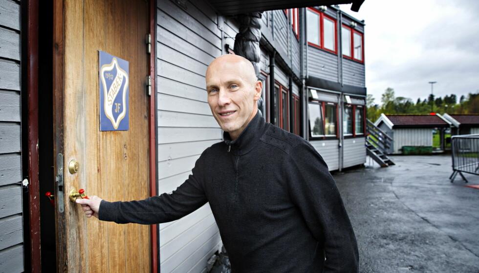 GODT FORHOLD TIL NORGE: Bob Bradley snakker fortsatt varmt om tiden i Stabæk, selv om kontoret en stund var arbeidsbrakker. Foto: Nina Hansen / Dagbladet