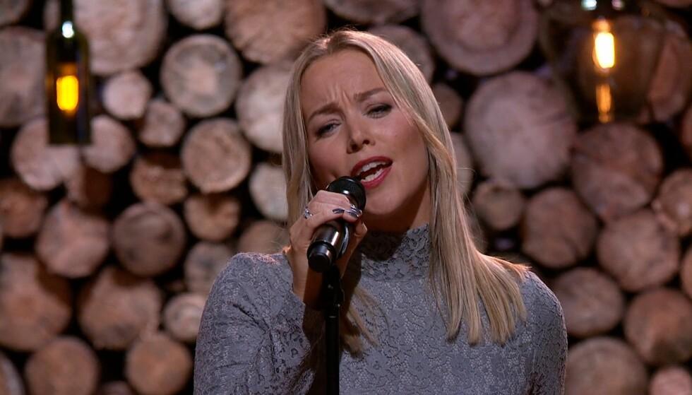 MODIG VALG: Benny Borg mener Hanne Sørvaag var modig som framførte hans svært personlige låt til sin avdøde kone i «Hver gang vi møtes». Foto: TV 2
