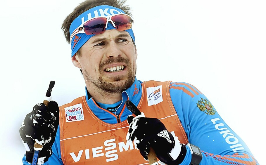 """VINNER OG  initial;"""">VINNER: Ingenhar tidligere vært inærheten av detSergej Ustjugov harlevert så langt iTour de Ski.  Foto: Christof Stache / AFP / NTB Scanpix"""