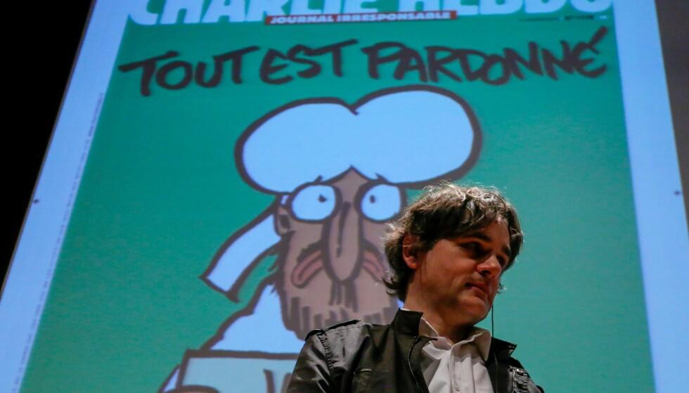 IKKE ENDRET SEG: Laurent Sourisseau mener slett ikke at ting har blitt bedre etter angrepet i 2015. Foto: EPA/Carlos Villalba R / NTB Scanpix