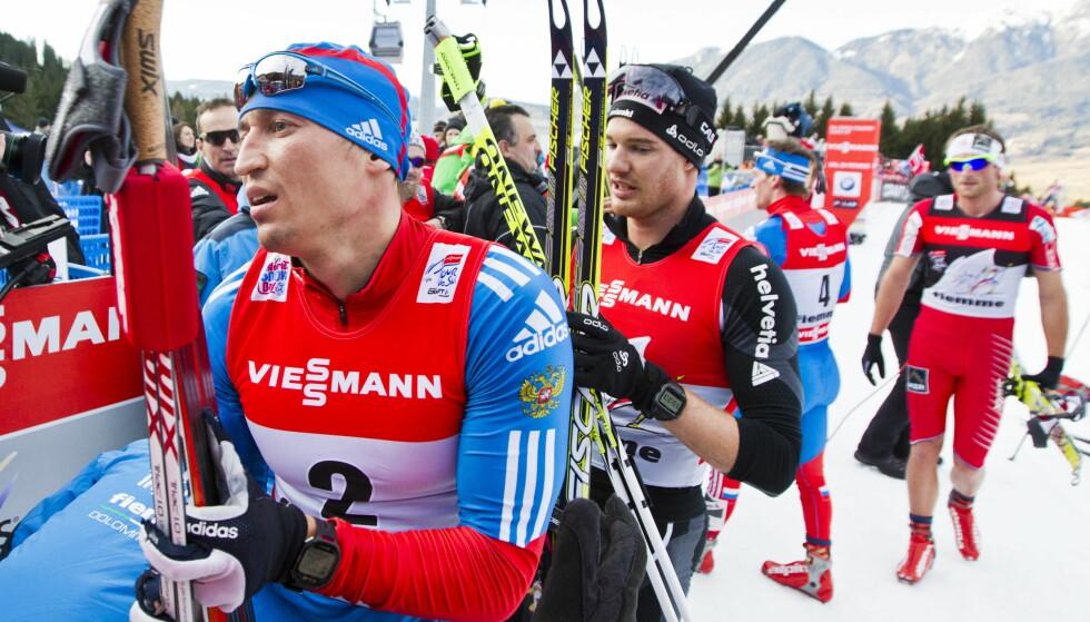 VIL TILBAKE: Aleksander Legkovs mål var å vinne årets Tour de Ski. I stedet ble han utestengt og fikk se lagkompisen Sergej Ustjugov herje. Foto: Vegard Grøtt / NTB scanpix