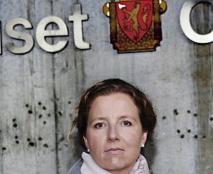 VARSLER: Lill-Karine Nielsen varslet om det hun mener er justismord. Da fikk hun beskjed om at hun ikke var en lagspiller. Foto: Jacquees Hvistendahl / Dagbladet