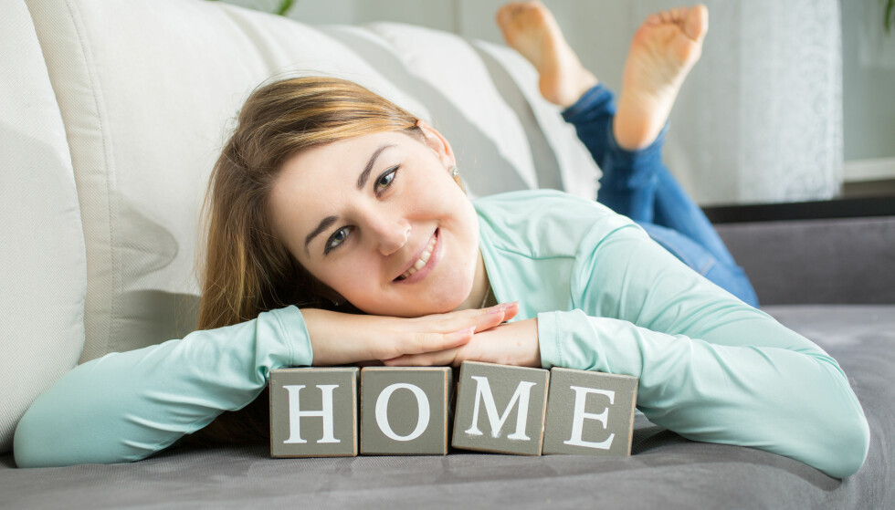IDYLL: Interiørbokstaver minner deg om enkle ting, som at du er hjemme og at du skal slappe av. Foto: NTB Scanpix