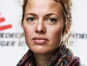 LEGER UTEN GRENSER: Karine Nordstrand.
