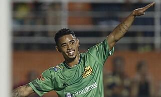 STORT TALENT: Gabriel Jesus kommer fra brasilianske Palmeiras. Foto: EPA/SEBASTIAO MOREIRA/NTB Scanpix