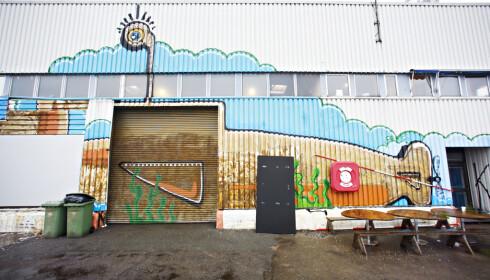 HER BLIR DET LIV: I det gamle sukkerlageret på Vippetangen kommer Vippa, mat-og kultursenter. Her kan du kjøpe mat og ta med ut på kaikanten når det blir varmere i været. Åpner til påske. Foto: DAN P. NEEGAARD