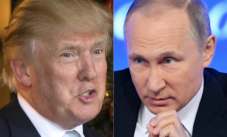 HACKING: Både påtroppende president Donald Trump og Vladimir Putins talsmann, Dmitrij Peskov, har ment at Russland ikke står bak hackingen av Demokratenes dataservere. Foto: Ap / Don Emmert Natalia Kolesnikova / NTB Scanpix
