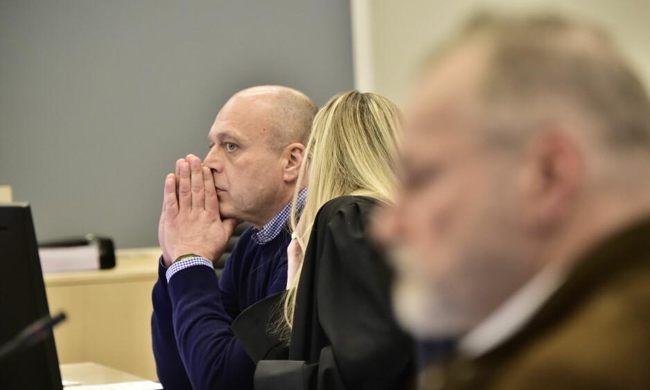 I RETTEN: Rettsaken mot den tidligere politimannen Eirik Jensen og Gjermund Cappelen startet i Oslo tingrett mandag. Foto: Lars Eivind Bones / Dagbladet
