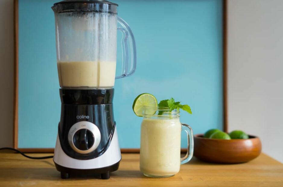 SUNN START: Få i deg fem om dagen med friske smoothies og ferskpresset juice.