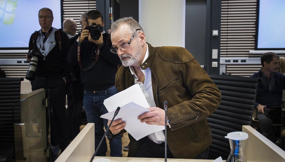 FORKLARER SEG: Eirik Jensen, her fotografert før han forklarte seg i retten tirsdag. Foto: Lars Eivind Bones / Dagbladet