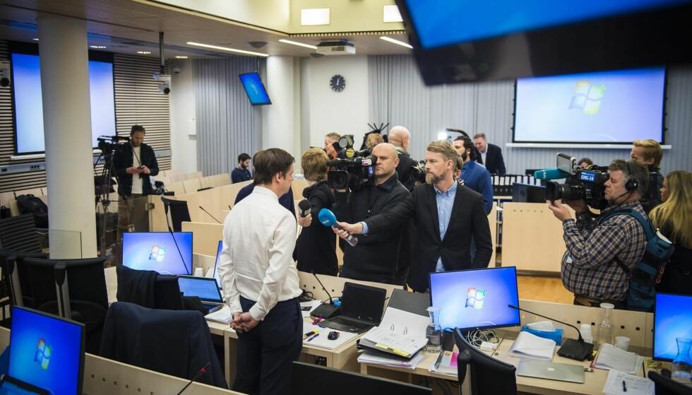 I RETTEN I DAG: Forsvarer John Christian Elden. Foto: Lars Eivind Bones