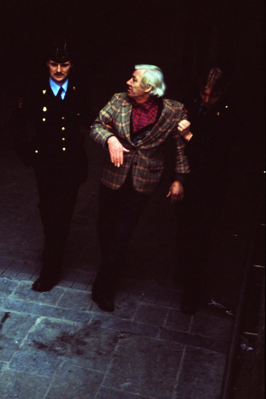 NEDRE FAGERBORGS HASJ, HÅNDJERN OG SPANER LAUG: Et av våre medlemmer ble i 1980 tatt med inn til avhør fordi vedkommende hadde sagt hysj purk, men onkel Politi var sikre på at han sa hasjpurk. Foto: Tom Stalsberg.