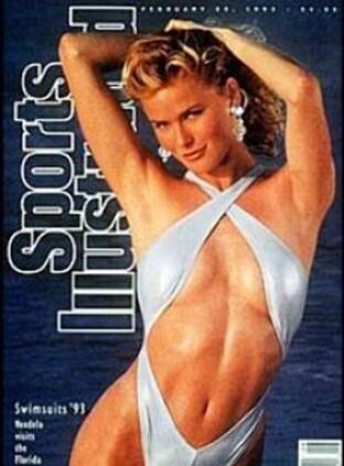 1993: Vendela Kirsebom stilte på forsiden av Sports Illustrated på 90-tallet, og anser det som et av høydepunktene i karrieren.