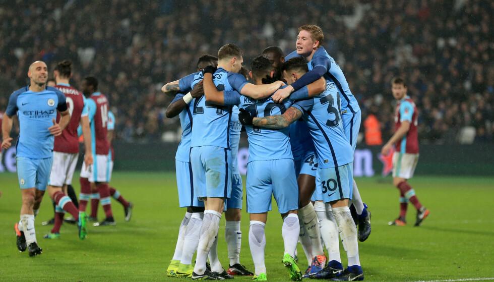 I TRØBBEL?: Manchester City er siktet av FA for brudd på dopingreglementet. Foto: NTB Scanpix