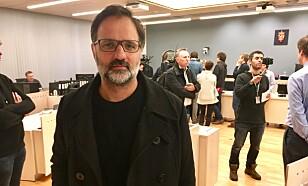 I RETTEN: Regissør Ulrik Imtiaz Rolfsen. Foto: Trym Mogen / Dagbladet