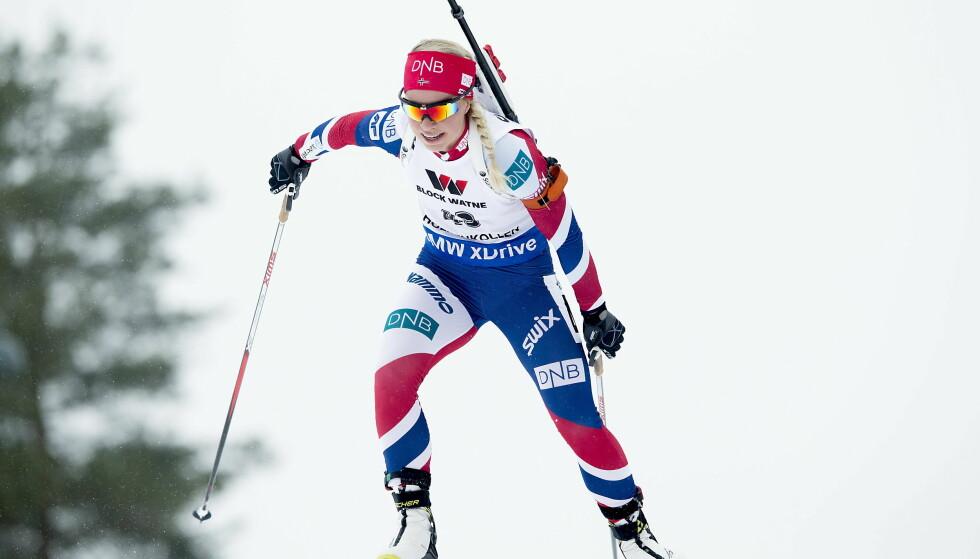 Holmenkollen  20160309:  VM Skiskyting 2016.  Oslo2016 .  Tiril Eckhoff endte på 43.plass under kvinnenes 15 km. Foto: Bjørn Langsem / Dagbladet